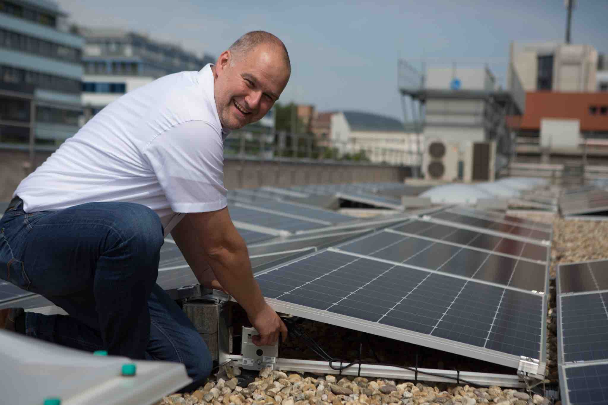 Aus Sonne wird Eis. Sonnenenergie – Kraftwerk zur Kälteerzeugung